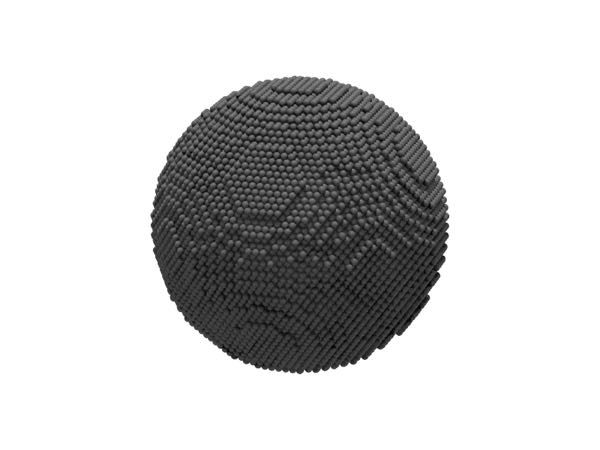 Image of spherical nanoparticle